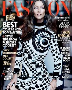 Alana Zimmer for Fashion Magazine Canada November 2015 | Art8amby's Blog