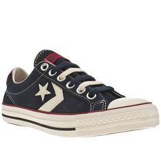 sports shoes fecf4 32f36 Women s Navy  amp  Stone Converse Star Player Ox at Schuh Converse Star  Player, Online