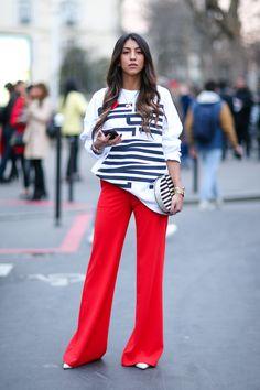 A chi stanno bene i pantaloni a zampa?