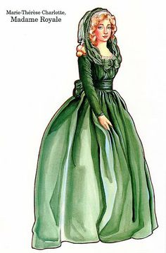 The French Revolution Paper Dolls - Madame Royale