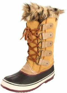 Amazon.com: Sorel Women's Joan Of Arctic Boot: Shoes size 7.5 or 8 in the taffy/port royale color