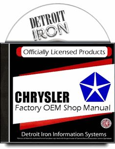 #Plymouth Passenger Car Factory Service Manuals 1936-1979 on CD