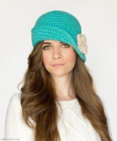 Charleston Cloche Hat Crochet Pattern!