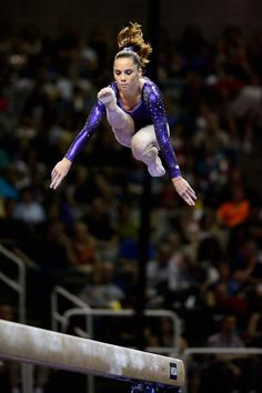 Makayla maroney- I am awed by what gymnasts can do on a 4 inch apparatus!