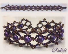right angle weave leaf pattern beaded - Google Search