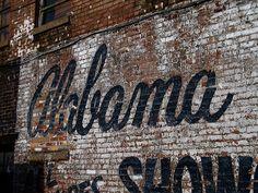 Alabama Ghost Sign, Birmingham, AL