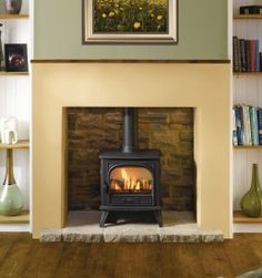 Dovre 280 Gas balanced flue version with log effect Coal Stove, Cast Iron, It Cast, Air Supply, Ignition System, Gas Fires, Room Planning, New Model, Home Appliances