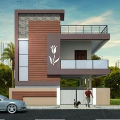 Owner 4 BHK 2700 Sq-ft Residential House for Sale in Gurram Guda, House Front Wall Design, House Balcony Design, House Outer Design, 3 Storey House Design, Single Floor House Design, Modern Small House Design, House Outside Design, Modern Exterior House Designs, Village House Design