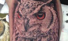 colour-fantasy - Bryan African Tattoo, Tattoo Artists, Owl, Fantasy, Colour, Bird, Tattoos, Animals, Color