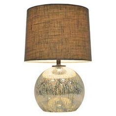 Threshold™ Globe Mercury Glass Table Lamp (Includes CFL Bulb)