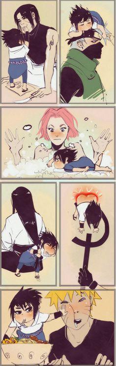 Sasuke :D this is funny #naruto #sasuke