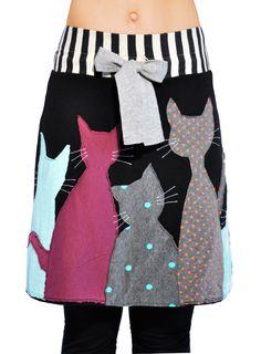 """Φούστα """"Γάτες""""   Φούστες : HEEL Athens Lab"""
