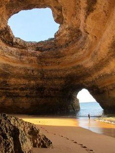 Benagil Cave in Portugal