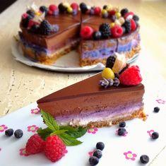 Čokoládovo-tvarohový cheesecake | Prudce Jedlé