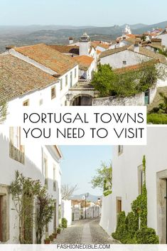 Discover 5 hidden gems in Portugal! This travel guide lists the top 5 towns in the beautiful Alentejo region of Portugal that's known for its delicious food and medieval villages. Portugal Travel Guide, Europe Travel Guide, Spain Travel, Travel Tips, Portugal Trip, Travel Plan, Travel Guides, Travel Destinations, Best Places In Portugal