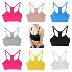 Women Seamless Racerback Padded Sports Bra is a comfortable piece of clothing to wear on in everyday life. You can use it during various sports activities Workout Wear, Workout Tops, Ad Workout, Running Wear, Running Shirts, Gym Tops, Yoga Tops, Hot Yoga Wear, Gym Bra