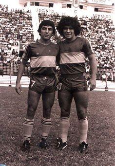 """""""Pichi"""" Escudero & Maradona"""