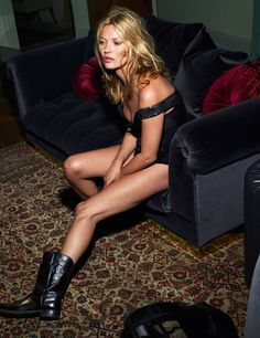 Kate Moss wears Givenchy on Vogue Paris October 2015 Cover | Kate Moss Universe