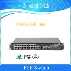 Security & Protection New Fashion Dahua 360w 24-port Poe Switch For Ip Camera Layer 2 Management Poe Switch Dh-pfs4226-24et-360 Professional Design
