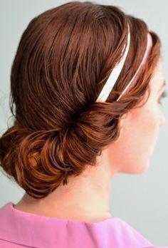 4 Prettiest Ways to Style Wet Hair - Hair Heat Free Hairstyles, Pretty Hairstyles, Easy Hairstyles, Active Hairstyles, Hair Styles 2014, Curly Hair Styles, Turbans, Locks, Bandeau
