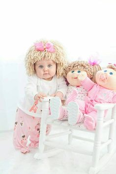 Cabbage Patch Hat Beanie Wig Baby costume costumes for kids cabbage patch inspired hats baby girl baby hats Halloween Bebes, Baby Girl Halloween Costumes, Girl Costumes, Baby Girl Hats, Cute Baby Girl, Cabbage Patch Costume, Funny Baby Costumes, Cabbage Patch Babies, Cool Baby Stuff