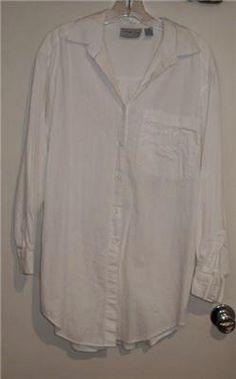 @C99Sale ~ VENEZIA L/S White Big Shirt 14/16 | #eBay