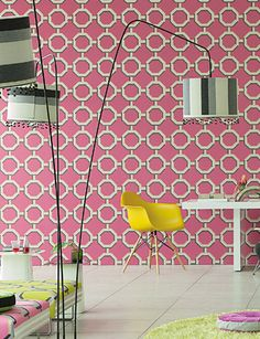Leopold wallpaper from Designers Guild -Available @ Maryland Paint & Decorating's Showroom Wallpaper, Osborne And Little, Decor, Designers Guild Wallpaper, Z Wallpaper, Printed Shower Curtain, Designers Guild, Wall Coverings, Interior Design Projects