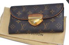 Louis Vuitton Eugenie Monogram Women's Wallet Purse