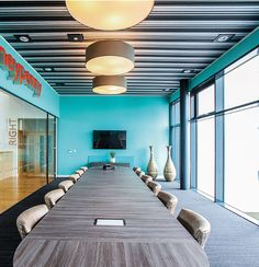 Hunter Douglas, Conference Room, Architecture, Ceilings, Acoustic, Table, Furniture, Home Decor, Interiors