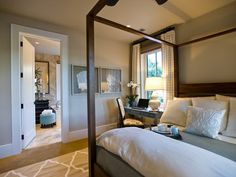 Master Suite Bedroom of HGTV Dream Home 2013