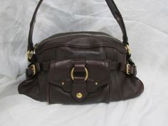 Celine handbag with brass hardware