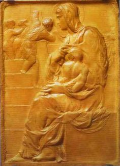 Page: Madonna of the Stairs Artist: Michelangelo Completion Date: c.1490