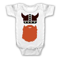 Funny Sayings Shirt Viking Beard Onesie Youth Kid Toddler Infant | eBay