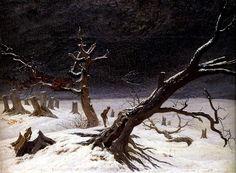 Caspar David Friedrich - Winter Landscape (1811)