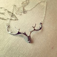 Love this necklace #jewelry #deer #outdoors #hunting