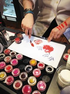 create your own custom lipstick at BITE in NYC (you also pick the flavor and name!) Jealous.