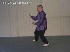 24 Form Tai Chi - Lesson 12 - Grasp Bird's Tail - part 4 - YouTube
