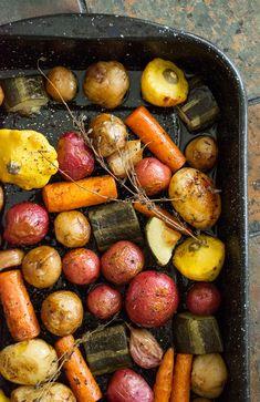 Vinegar-Roasted Vegetables