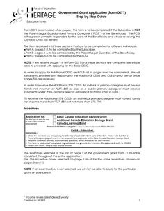Free Government Grants Application Form - more about gov grants at grants-gov.net