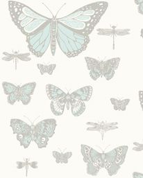 Butterflies & Dragonflies 4 från Cole & Son