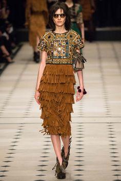 Indian shisha embroidered top at Paris fashion week.