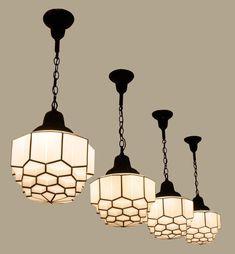 Art deco lighting pendants art lamp modern art lamp glass fixtures with gol Vintage Industrial Lighting, Industrial Light Fixtures, Antique Lighting, Vintage Light Fixtures, Interiores Art Deco, Lampe Art Deco, Diy Art, Estilo Art Deco, Muebles Living