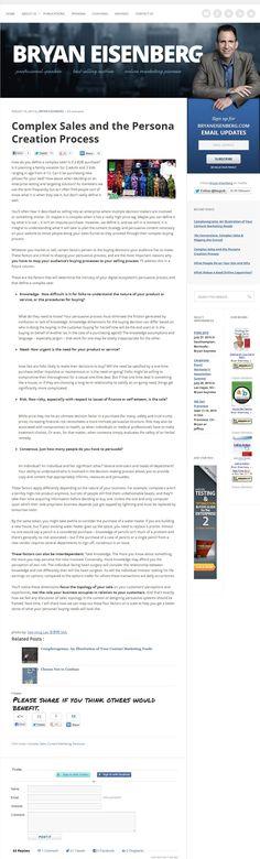 Bryan Isenberg - понравилась шапка и первая часть экрана, как оформлен блог, статья.