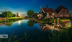 Zaanse Schans a Quick 20 mins drive from Amsterdam leads you to a Fairy Tale Land !!! Beautiful as it looks and feels :)