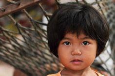 Portrait of thai little girl