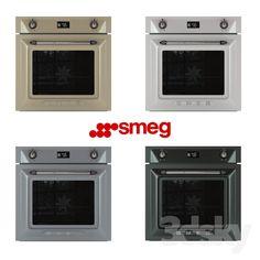 Smeg / SF6922 #3d_oven
