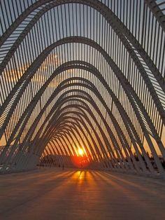 Olympic Agora in Montreal - Santiago Calatrava