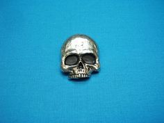 Skull Button Stud Backed Jewelry NEW Original by CenterOfTheCircle