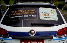 #PUBLICAR #CARVAJAL #LISTEL - #CARTAXI   Listel que já esteve presente nos táxis do São Bernardo, Santo André e Diadema, inicia neste mês uma nova campanha agora nos táxis de Campinas.      A ação da agência GNova com realização da Cartaxi, pode ser vistas desde o mês passado em 75 vidros traseiros. A peça enfatisa que a Listel acha, o que os outros apenas buscam.