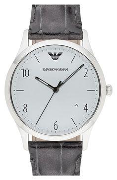 Men's Emporio Armani Round Watch